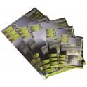 Feuilles de plastification A4 75 microns par face, 150µ total, boite de 100